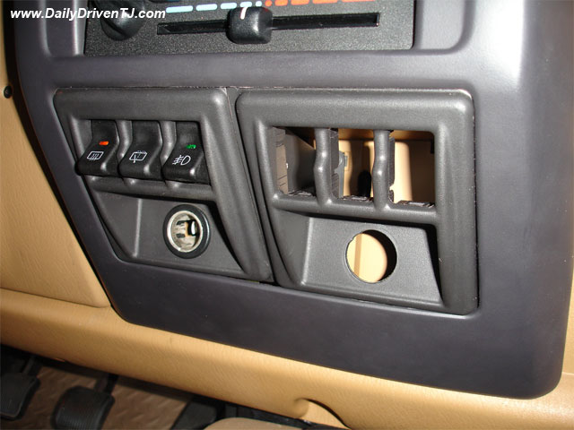 Jeep Tj Light Switch Panel Wiring DATA