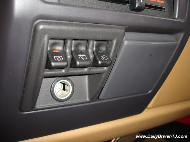 Mod Dual Switch Panel For Early Tjs