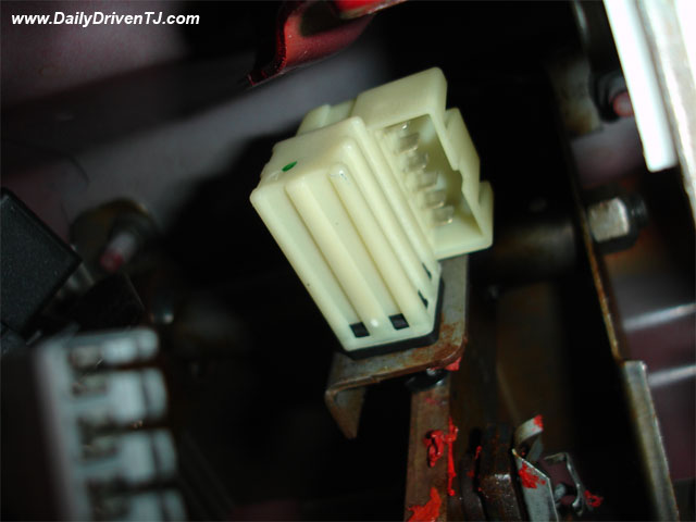 Jeep brake light switch